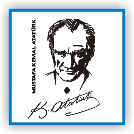 Atatürk imza siluet